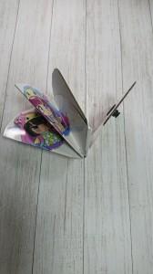 折り畳み式ウチワ畳み方1